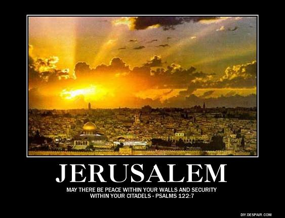 Hey Barry! Jerusalem Is The Capital Of Israel!