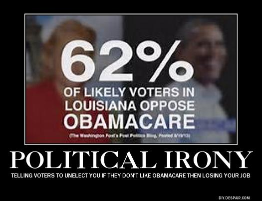 Louisiana Obamacare support