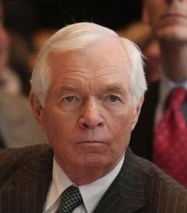 Senator Thad Cochran appears unhappy after receiving the news of his G.O.P. Hall of Shame induction