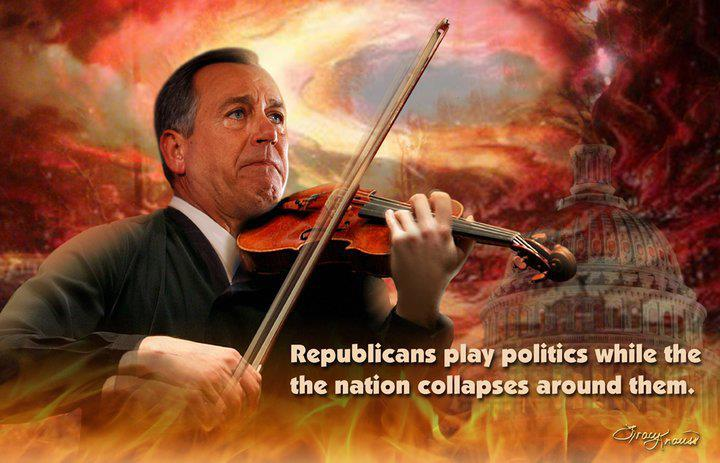 [mc_name name='Rep. John Boehner (R-OH)' chamber='house' mcid='B000589' ] fiddles while country burns