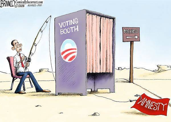 Obama baits illegals with amnesty