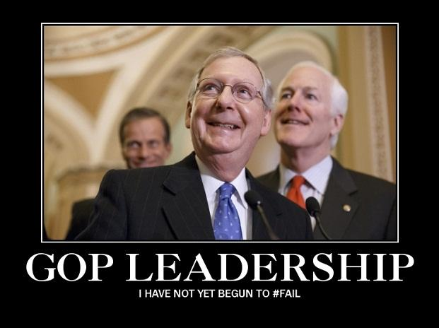 GOP I have not yet begun to fail