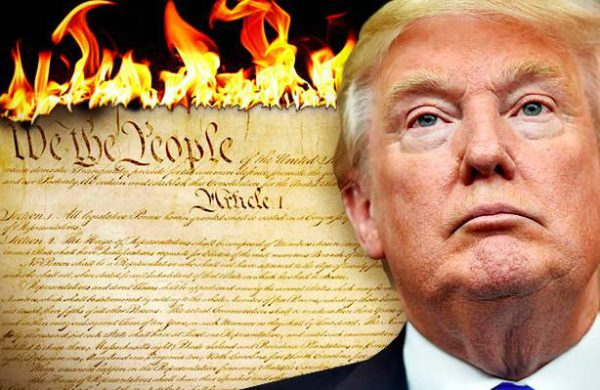 Conservative media outlet praises Trump's attack on the Constitution