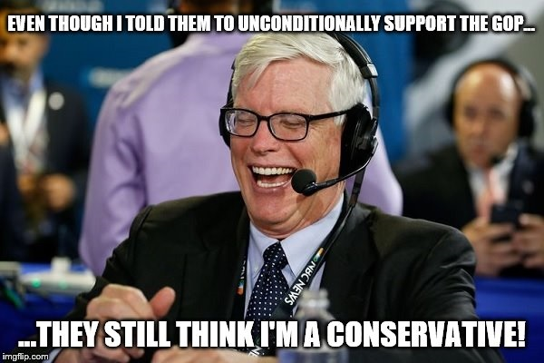 Hugh Hewitt says ignore Trump's loathsome behavior and vote GOP