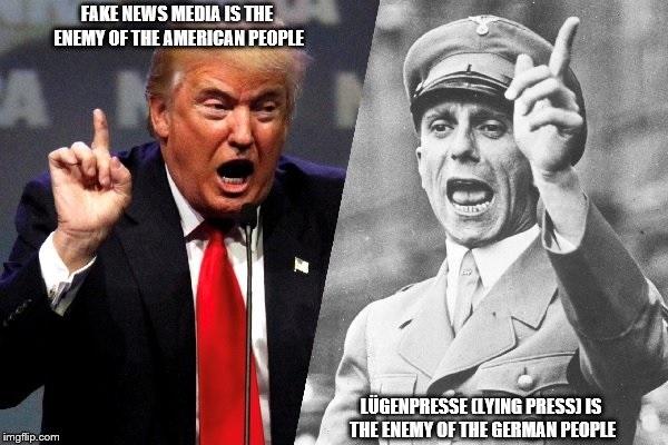 Joseph Goebbels' propaganda principles are paying dividends for Trump